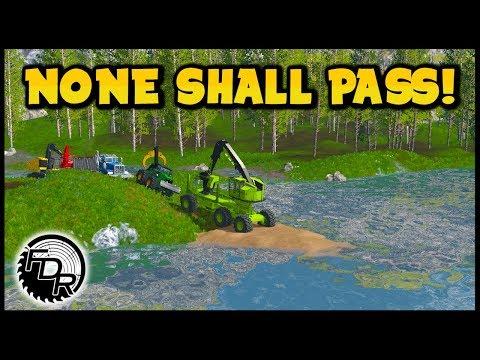 Final Episode Big Bridge Test! | Farming Simulator 2017 | Logging & Forestry #215 thumbnail