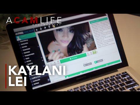 KAYLANI LEI - Live Cam Show Vs Shooting A Scene | A Cam Life (2019) Hulu Documentary