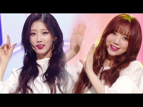 《ADORABLE》 Lovelyz (러블리즈) - Now, We (지금, 우리) @인기가요 Inkigayo 20170514