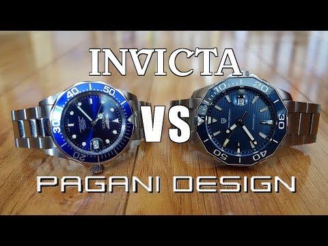 "Automatic Watch Duel! Invicta Pro Diver 9094 vs Pagani Design ""Aquaracer"" 1617 - Perth WAtch #135"