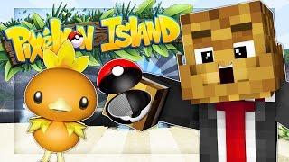 WHO IS YOUR FAVORITE STARTER POKEMON? - Minecraft PIXELMON ISLAND #1
