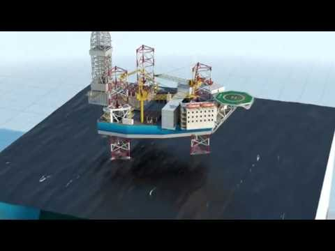 Global Maritime GM-J350M Modular Jack-Up