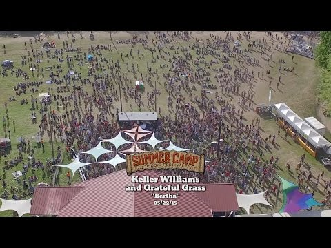 """SUMMER CAMP SESSIONS: """"Bertha"""" by Keller Williams' Grateful Grass with The Infamous Stringdusters"""