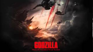Godzilla Soundtrack 2014 Movie Theme  - Cloudless Snow Studios