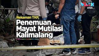 Detik-detik Penemuan Mayat Mutilasi Di Kalimalang, Terpisah Dua Tempat