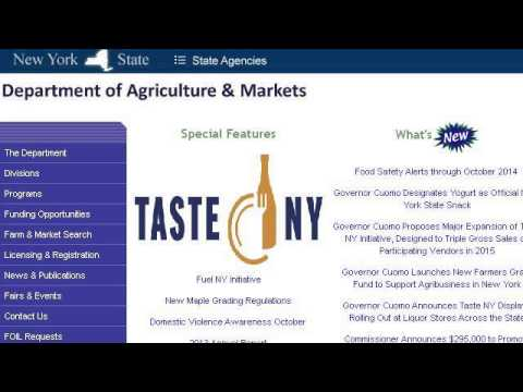New York State Food Stamp Rules Youtube