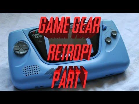 Sega Game Gear RetroPi Raspberry PI 3 Build - Part 1