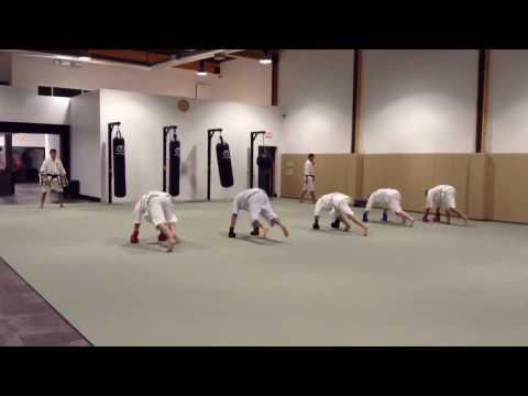 Beginning Machida Karate Class @ Manhattan Beach Traditional Karate