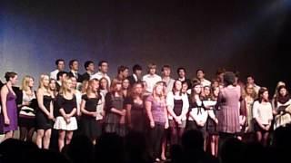 "Großer Chor des Graf-Rasso-Gymnasiums Sommerkonzert 2012 ""Hey, Soul Sister"""