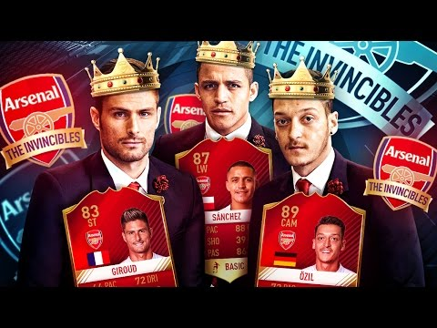 OMG THE RETURN OF MESUT OZIL! THE ULTIMATE ARSENAL INVISIBLES SQUAD BUILDER! FIFA 17 ULTIMATE TEAM