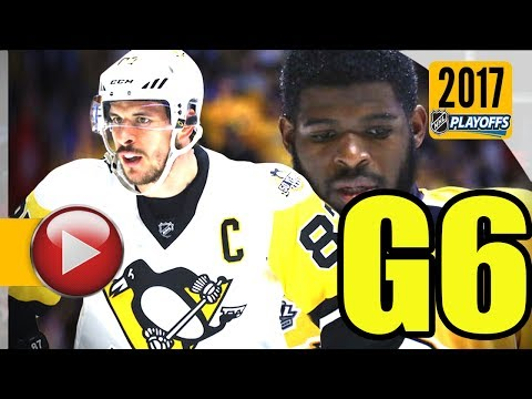 Pittsburgh Penguins vs Nashville Predators. 2017 NHL Playoffs. Stanley Cup Final. Game 6. (HD)