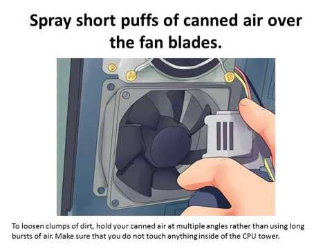 How to Clean a CPU Fan