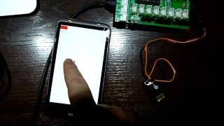Android & Arduino ServoMotor for MicroBridge