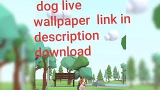 cute puppy live wallpaper screenshot 1