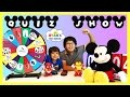 DISNEY QUIZ CHALLENGE with Disney Pixar Cars  and Mickey Mouse Toys