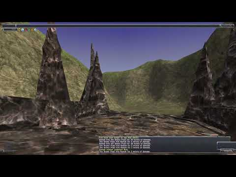 Simple SMN Soloing Shooting Fish FFXI - No Commentary - No Need For Gear, Bring A Drink If Worried.