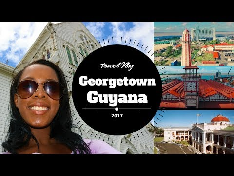 ♔ Travel Vlog ♔ | Georgetown, Guyana -  | Provotique Walking