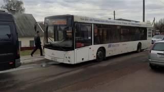 В Мозыре пострадал пассажир рейсового автобуса