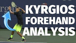 How To Hit Your Tennis Forehand Like Nick Kyrgios - Tennis Forehand Analysis