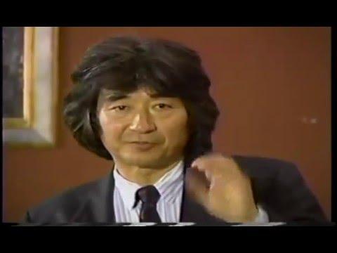 Seiji Ozawa - About Leonard Bernstain
