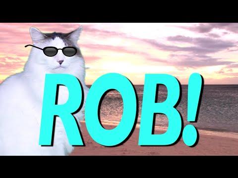 Happy Birthday Rob Epic Cat Happy Birthday Song Youtube