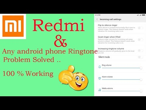How to Solve Redmi /any android phone Ringtone volume & Speaker  Problem Fixed with Simple 3 Steps