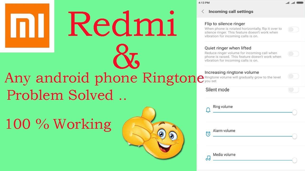 alarm ringtone volume android