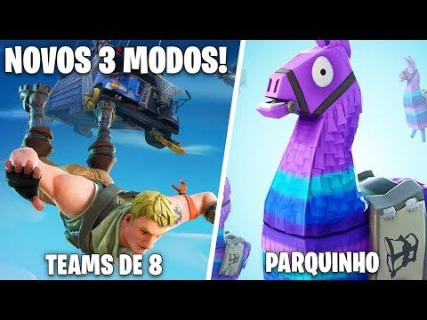 PATCH V4.4 | NOVOS 3 MODOS LIMITADOS BREVEMENTE NO JOGO -Fortnite