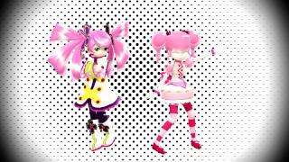 【MMDxUTAU】 TonTon Mae! 『Haruka Nana/Kane Tomo』
