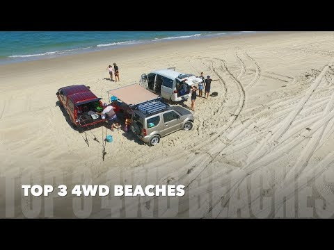 TOP 3 BEST 4WD BEACHES - South East Queensland, Australia | JustBecause