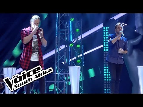 James Freedom and Richard Stirton sing 'Hold Back The River' | The Battles | The Voice SA