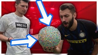 CRAZY RUBBER BAND FOOTBALL
