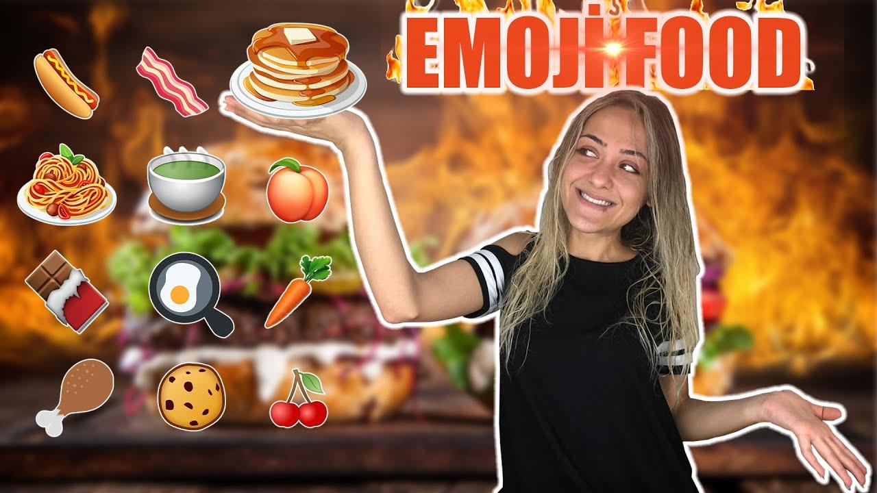 EMOJİ FOOD CHALLENGE 2!