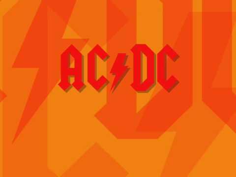 AC/DC - Back In Black - Live