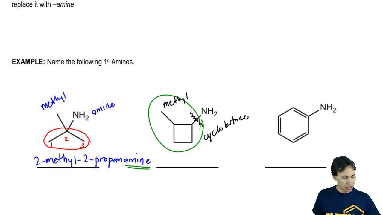 Naming Primary Amines