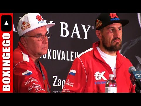 "SERGEY KOVALEV CALLS ANDRE WARD ""SON OF JUDGES"" AFTER GETTING STOPPED W/O JUDGES FULL POST FIGHT"