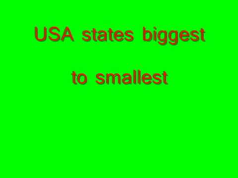 US states by size