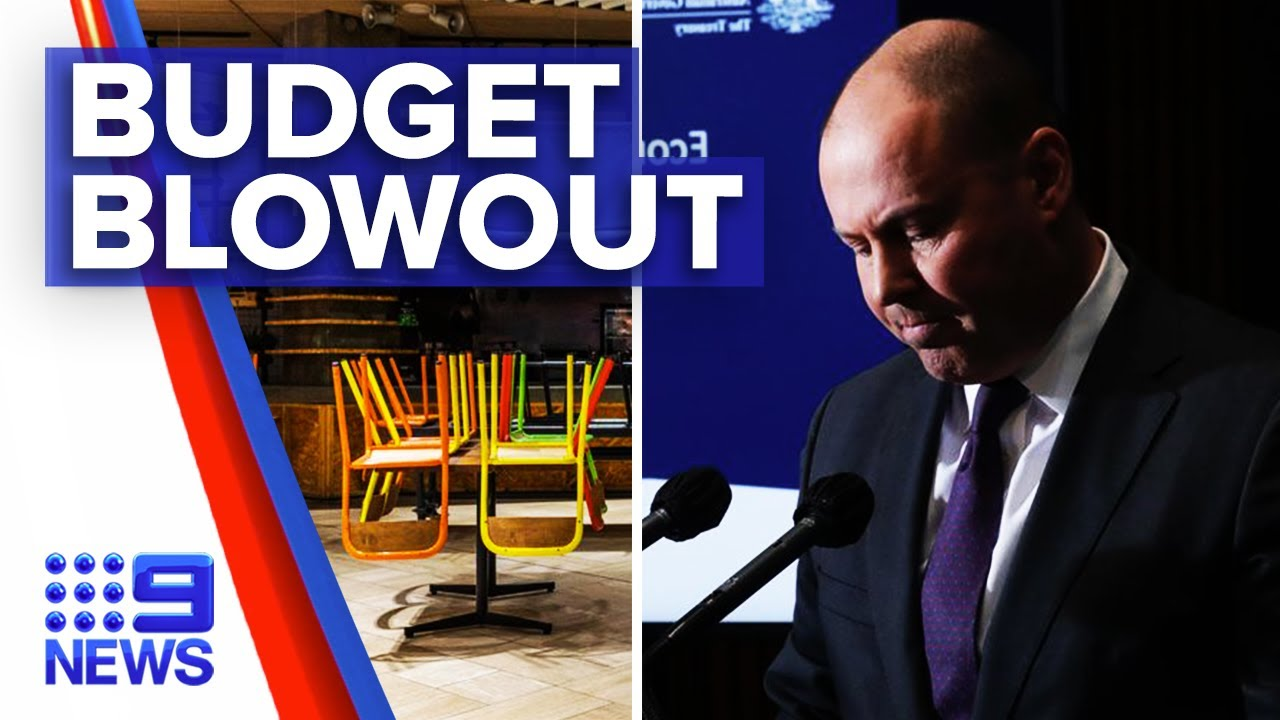 Coronavirus: Pandemic leaves Australian economy in historic budget deficit | 9 News Australia