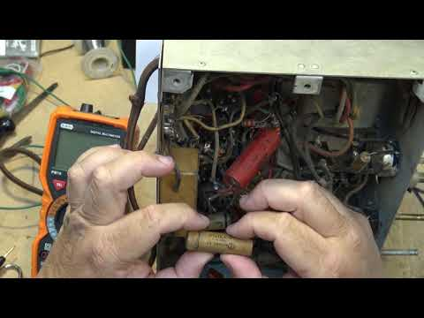 80 year old Electrohome series 662 E radio restoration and diagnostics part 1