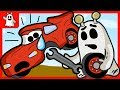 Igo The Friendly Ghost Repairs Toy Cars Vehicles For Kids Cartoon