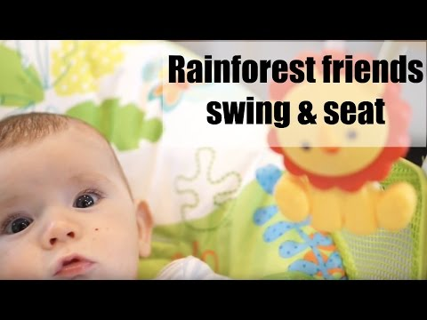 Fisher-Price Rainforest Friends Take-Along Swing & Seat Review | AD