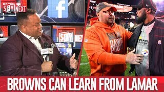 Browns can learn from Lamar, Jason Whitlock joins the crew | SFY NEXT