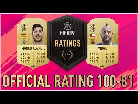 100 Pemain Terbaik di FIFA 19 Ultimate Team (100-81)!