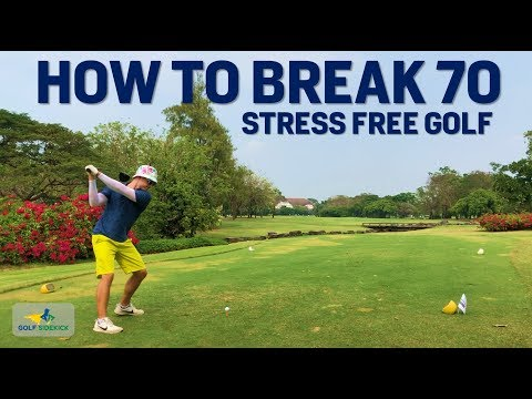 How to Break 70 Lower Scores with Stress Free Golf DeShambo Proof