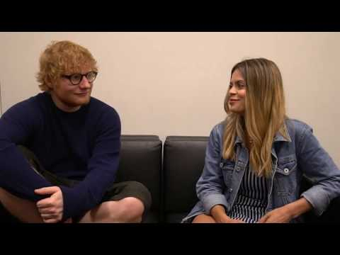 Ed Sheeran Interview - See Why He Freaks Out On Me...