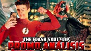 The Flash 5x01 Nora Allen Conoce a Barry, ARROW en EPISODIO 100 de FLASH y BATWOMAN PRIMER LOOK!