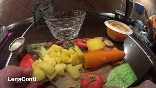 LC306:Женскийклуб. Школа выживания пенсионеров.День 11. Простая кулинария. Осенний салат 🥗