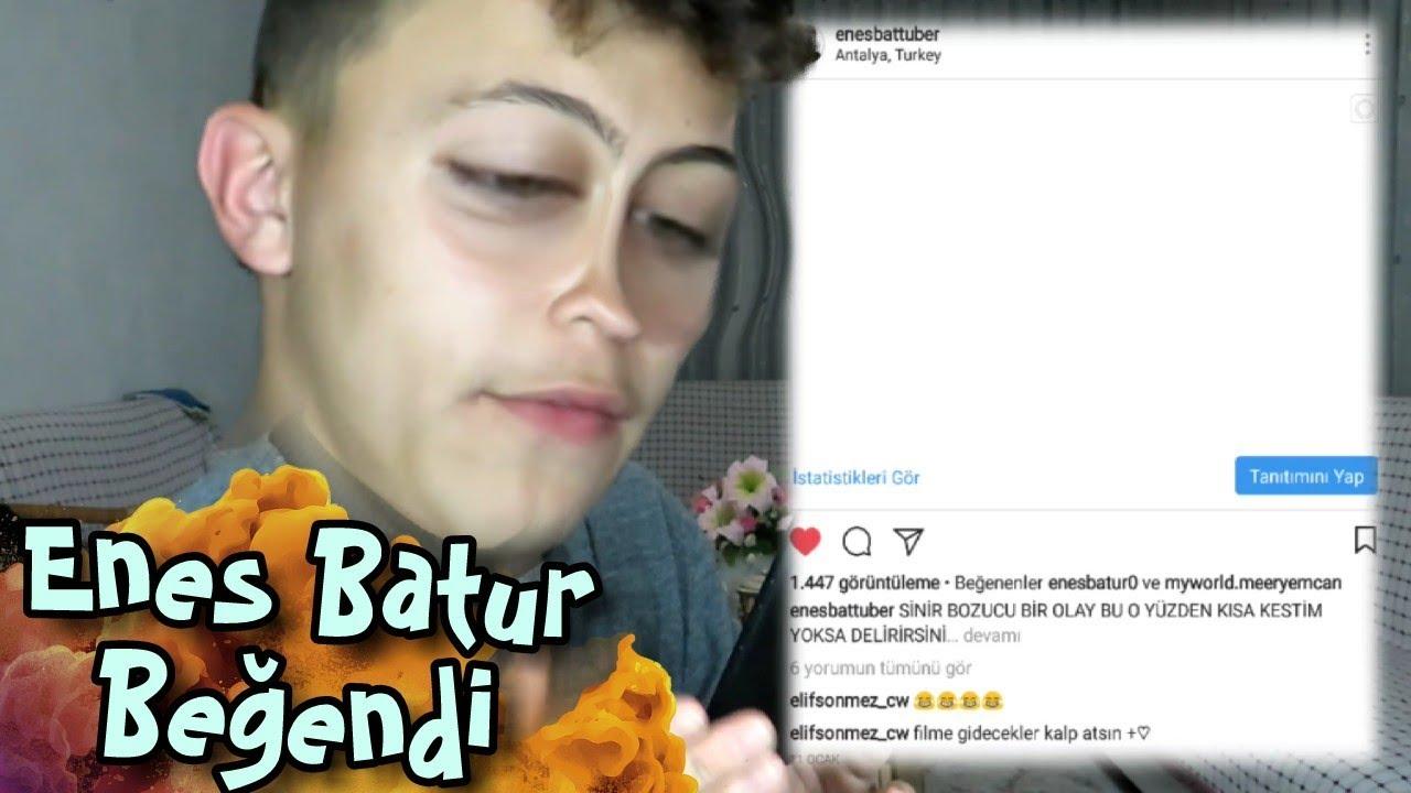 Kendi Enes Batur Fan Sayfami Sizlerle Inceledim Enes Batur Begendi Youtube