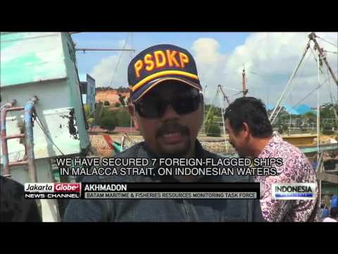 Authorities Seizes 7 Foreign Vessels Caught Fishing Illegally