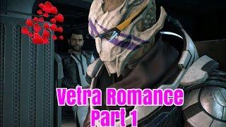 Mass Effect Andromeda Vetra Romance Part 1 (Male Ryder)